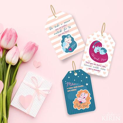 Tags Dia das Mães (arquivo digital)
