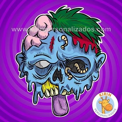Máscara Halloween Zumbi