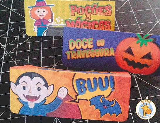 Halloween - solapa para doces