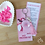 Thumbnail: Chaveiro com cartão   Outubro Rosa