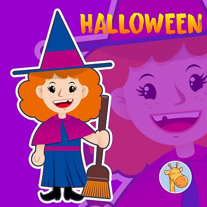 Halloween - Bruxinha