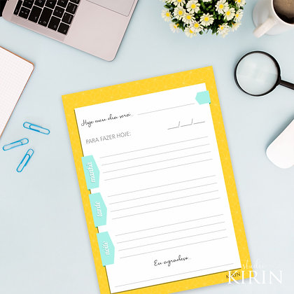 Planner diário (arquivo digital)