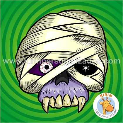Máscara Halloween Múmia