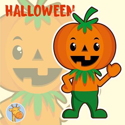 Halloween - Abobrinha