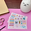 Thumbnail: Cartela adesivos para planner