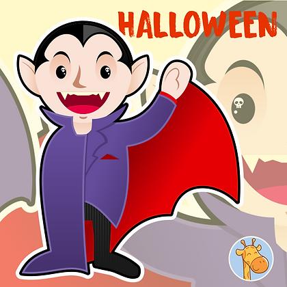 Halloween - Vampirinho