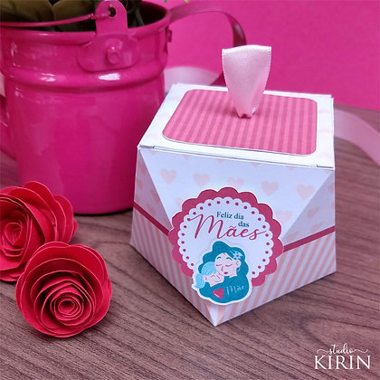 Caixa Diamante - Dia das Mães (kit c/ 10 un.)
