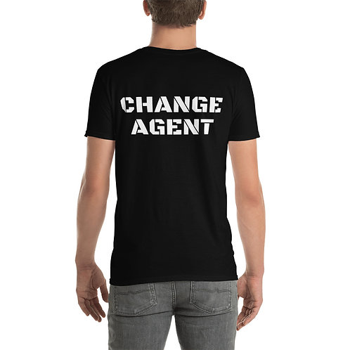CHANGE AGENT Short-Sleeve Unisex T-Shirt