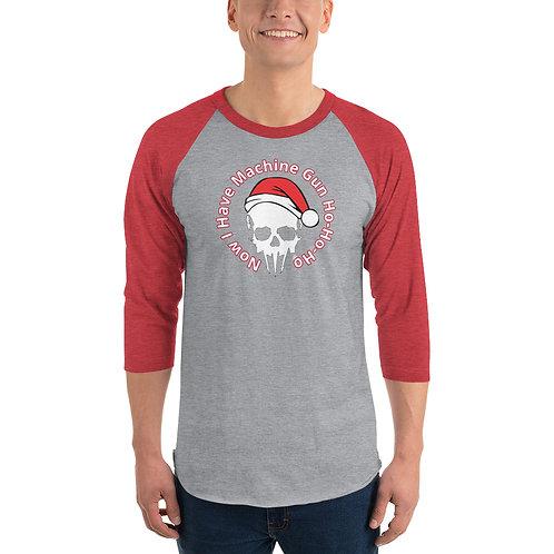 Unisex Holidays ¾ sleeve raglan shirt