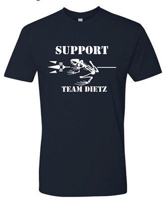 Team Dietz Unisex Midnight Blue Tee