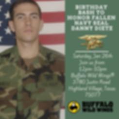 Birthday bash to honor fallen navy seal