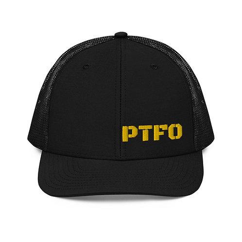 PTFO Yellow Trucker Cap