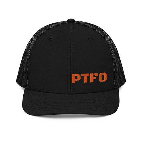 PTFO Orange Trucker Cap
