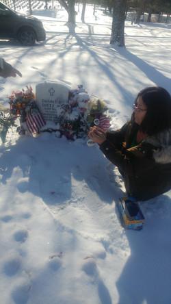 Danny's grave at Ft Logan, National