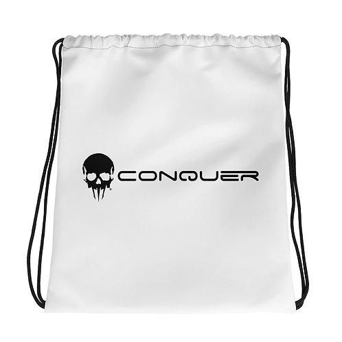 Conquer Drawstring bag