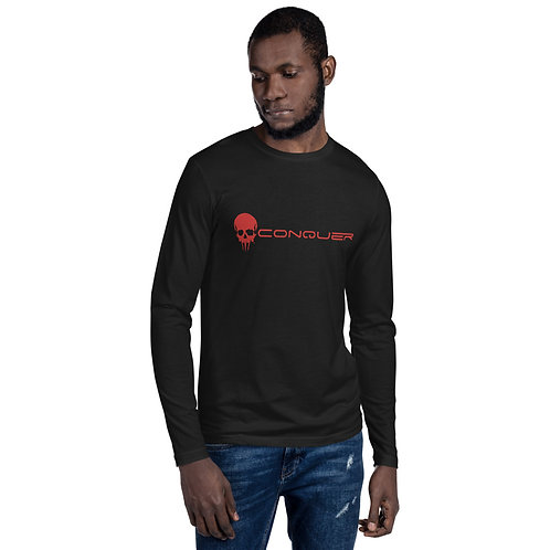 Conquer Savage Long Sleeve Fitted Crew