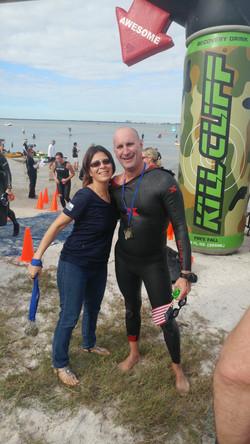 Navy SEAL Frogman Swim Jan 21, 2017.