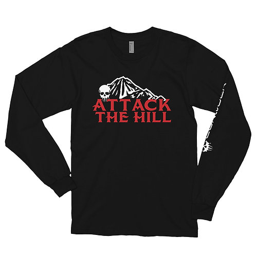Attack The Hill Long sleeve t-shirt