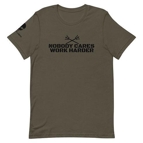 Nobody Cares Short-Sleeve Unisex T-Shirt