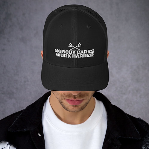 NOBODY CARES Trucker Cap