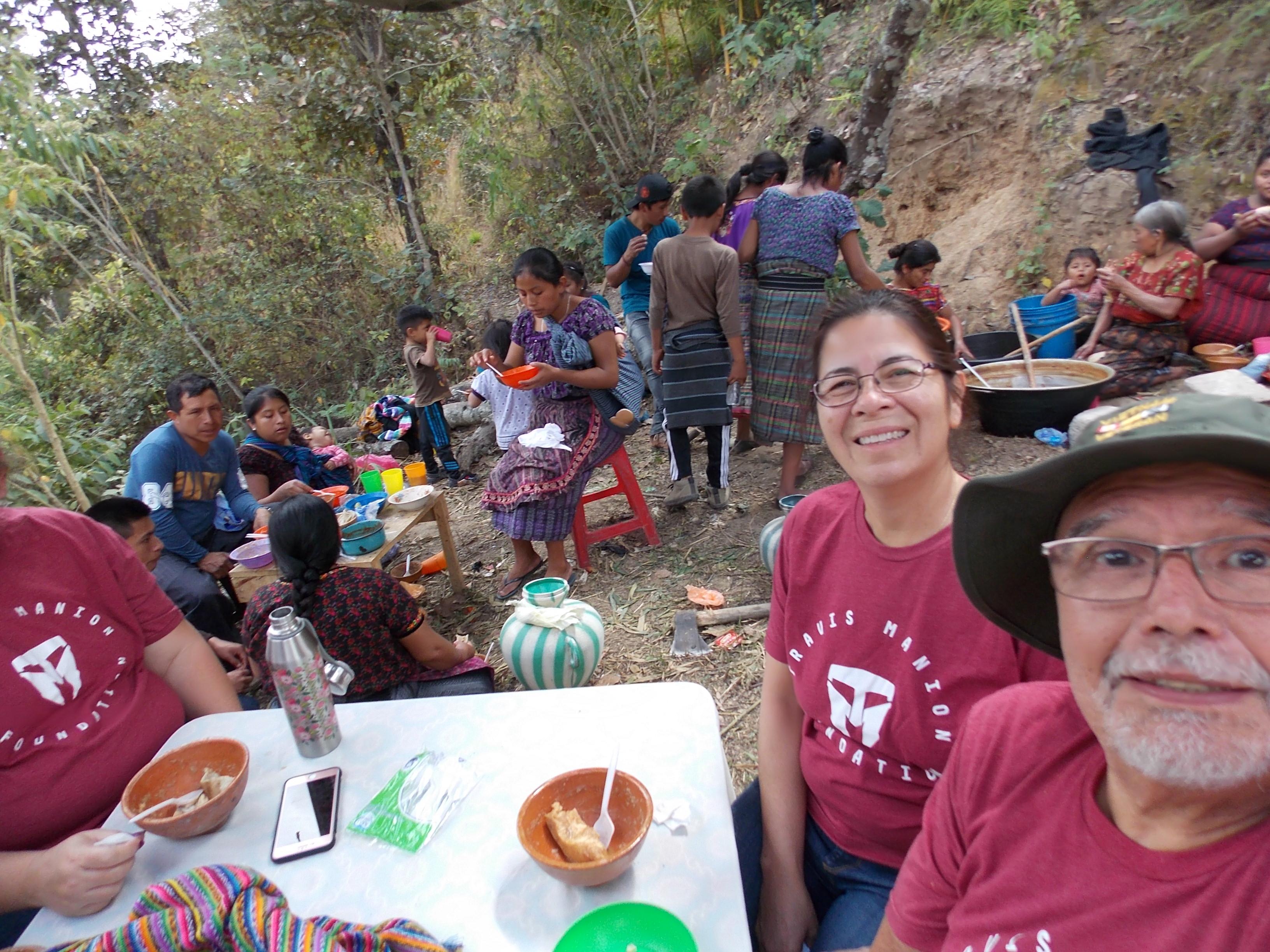 Guatemala January 2018.  Assisting t