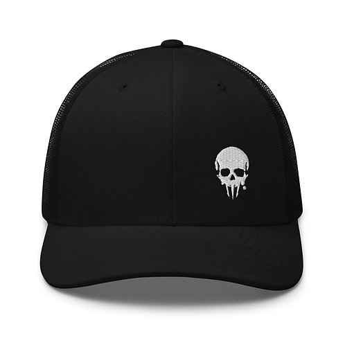 Conquer Skull Trucker Cap
