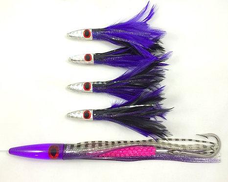 Purple-Black Heavy Tuna Hunter Chain