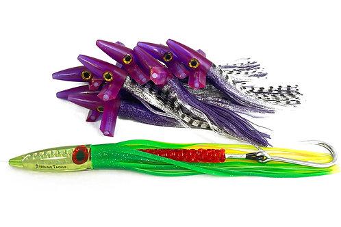 Purple/Black Magnum Crazy 8
