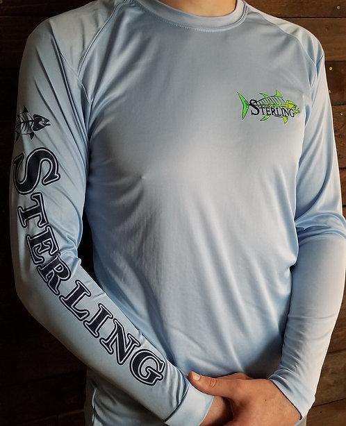 High Performance Blue Long Sleeve Shirt