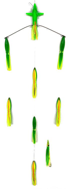 "18"" Wide Tracker - 9"" Bulb Squid"