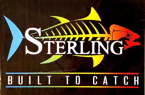 Sterling Tackle Vinyl Bucket Sticker