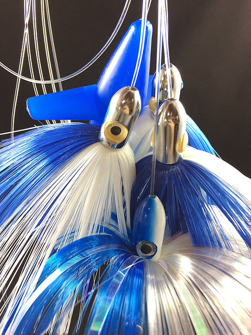 Blue/Crystal Light Joe Shute Chain