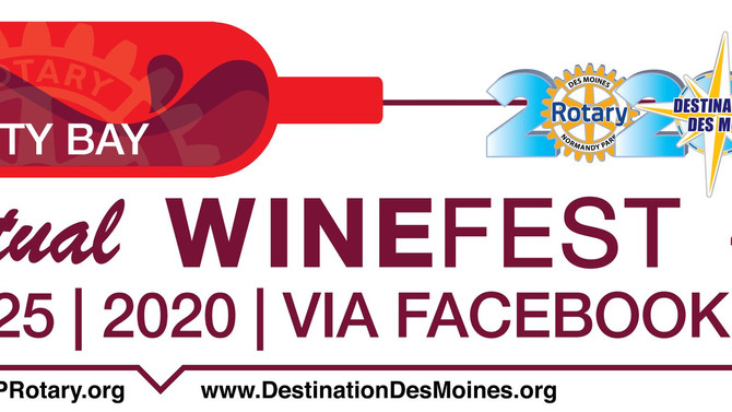 WINE FEST RETURNS VIRTUALLY ON JULY 25TH