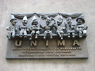 UNIMA_Sign_-_Marionettes_Union_-_Prague_