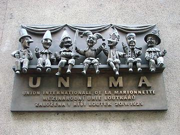UNIMA_Sign_-_Marionettes_Union_-_Prague_