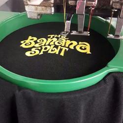 #printing #personalisedgifts #thebananasplits_#golfshirts #golfsociety #clothing #embroidery #brandi
