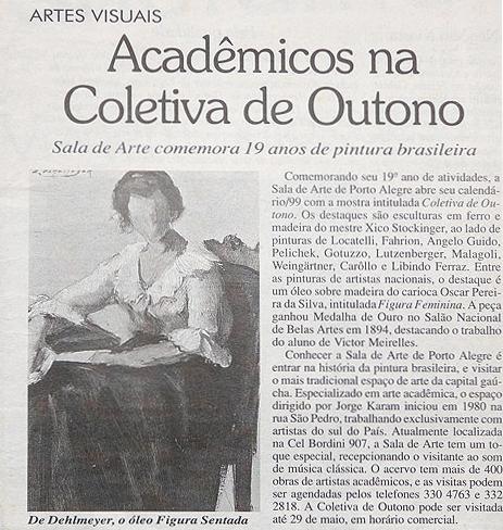 Acadêmicos na Coletiva de Outono