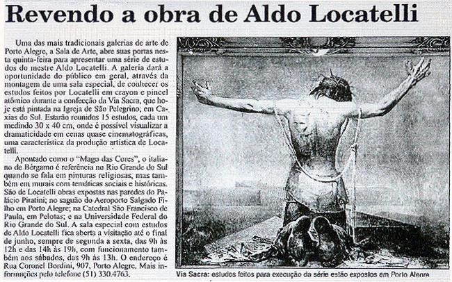 Revendo a Obra de Aldo Locatelli