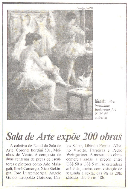 Sala de Arte Expõe 200 Obras