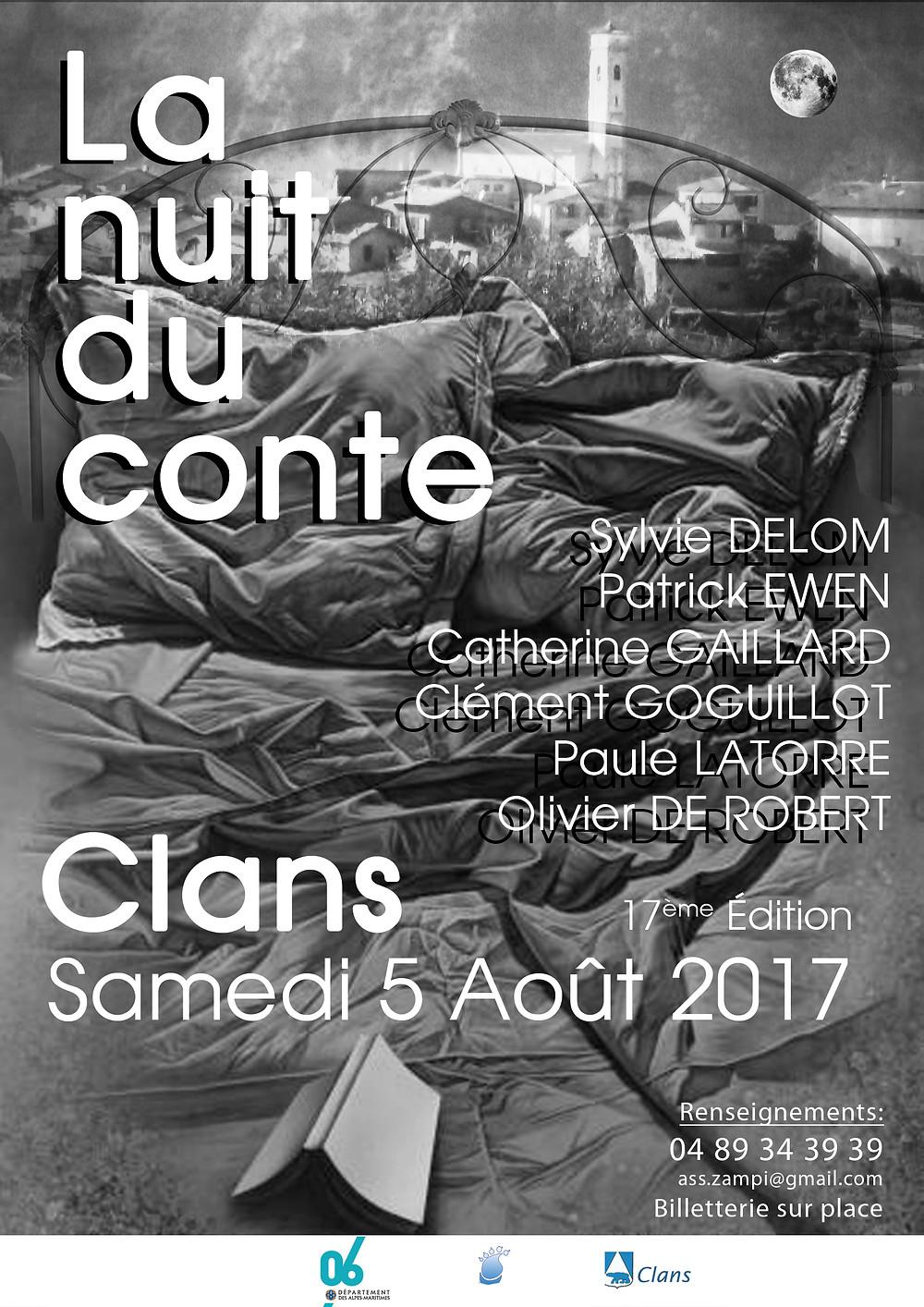 Nuit du Conte à Clans