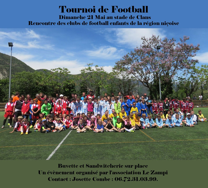 Tournoi de football intervallées des enfants