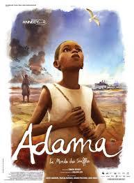 FETE DU FILM D'ANIMATION DIMANCHE 18 OCTOBRE  ADAMA suivi VOYAGE AVEC EDMOND BAUDOIN