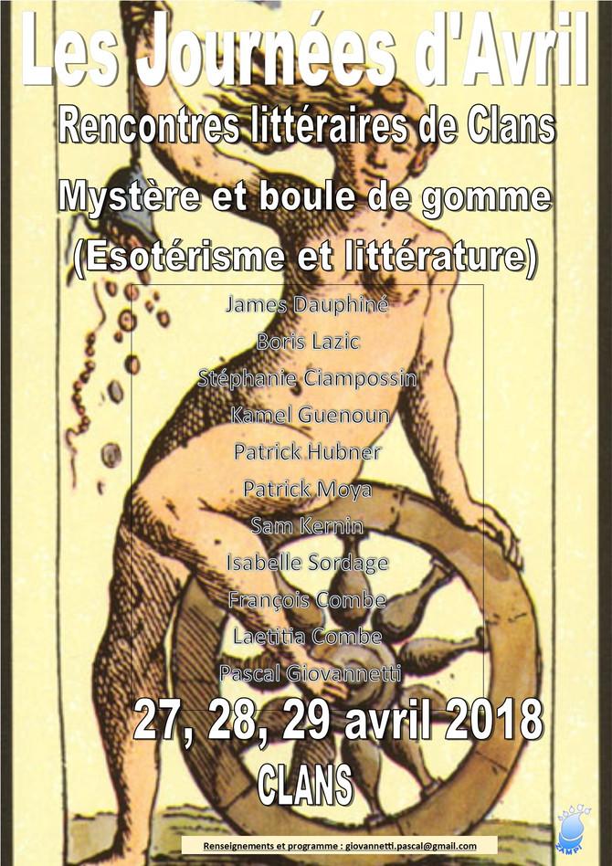 Journées d'Avril ( Rencontres littéraires de Clans)