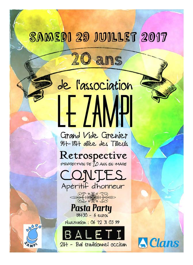 Fêtez avec nous les 20 ans du Zampi !