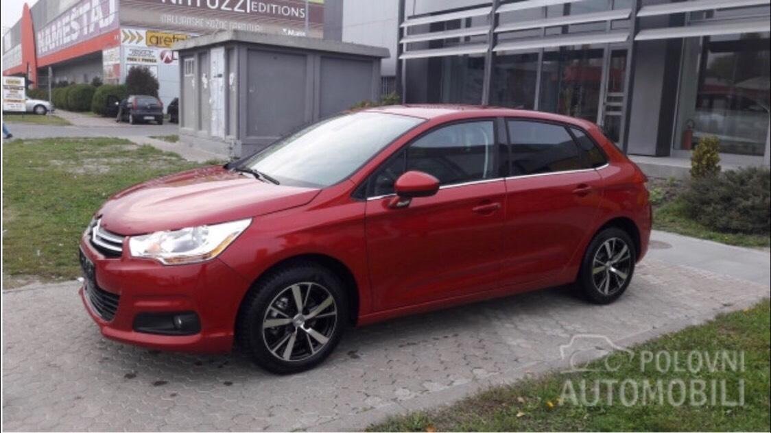 Citroen C4 16 Hdi Novi Sad Cartize Company Rent A Car