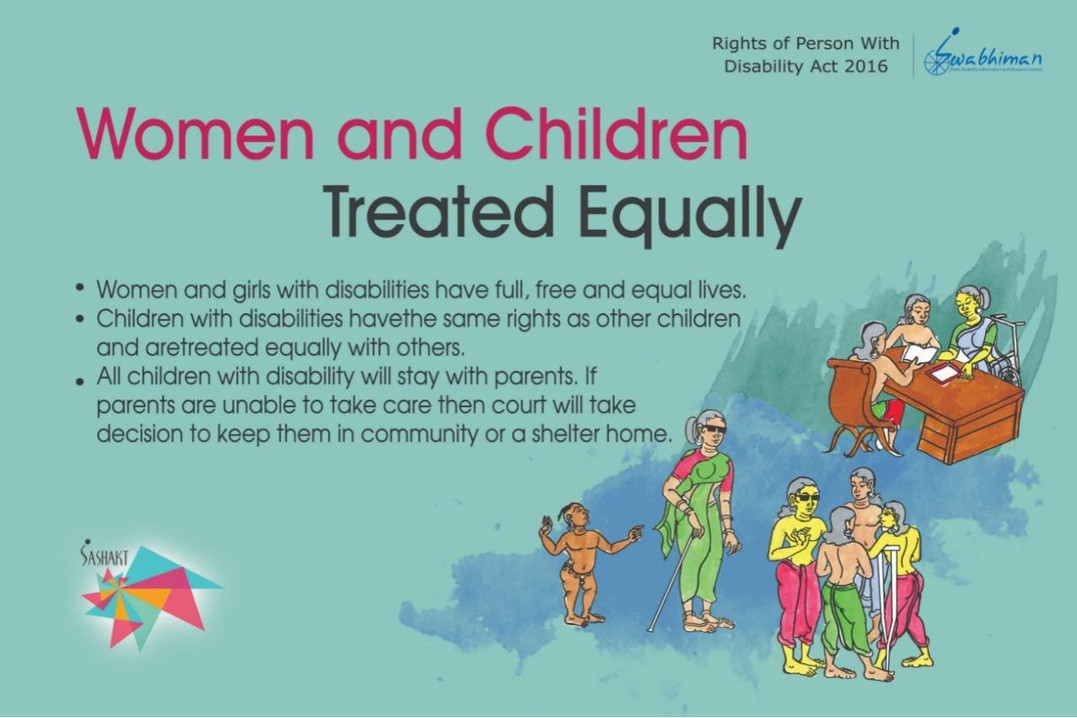 Women and Children Treated Equally