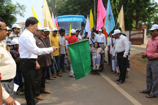 Nabarangapur- Flag Off