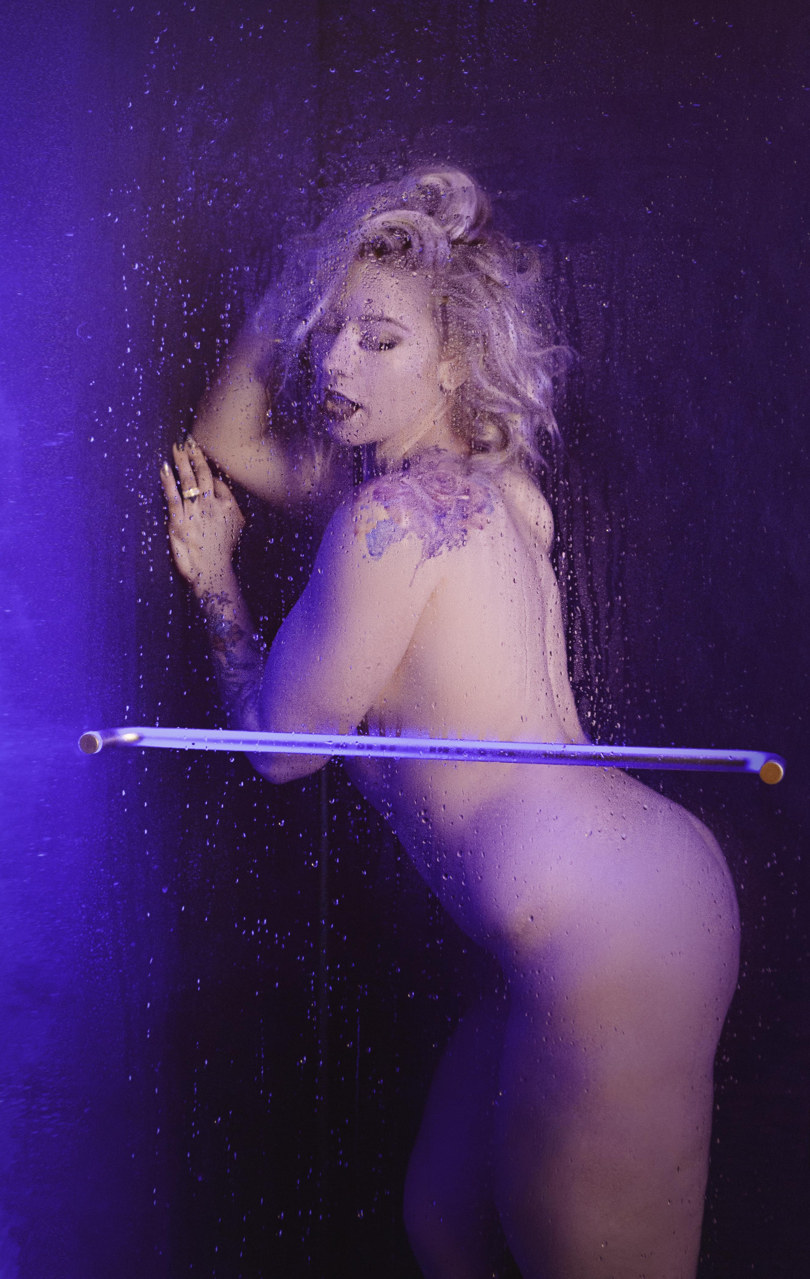 Shower Boudoir Shoot