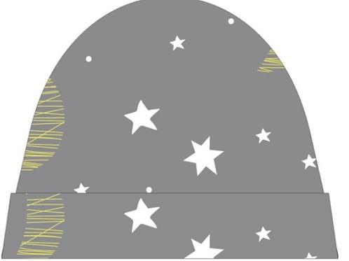 Moon 'n' Stars Baby Cap