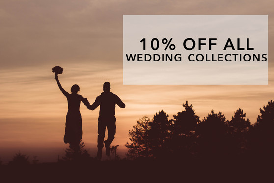 10% off all Everlasting Wedding Collections
